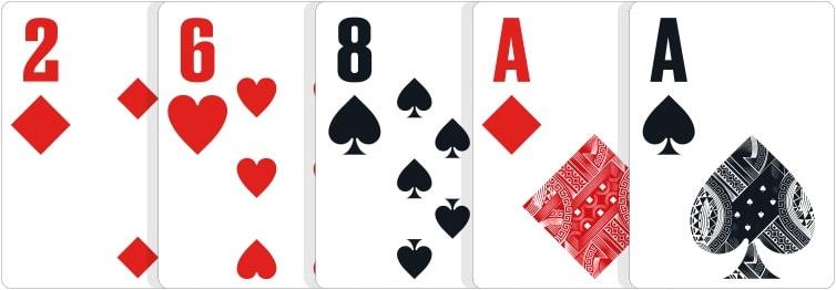 poker hand ranks-pair